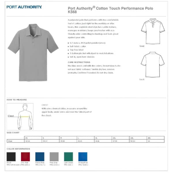 Cent' Anni Red Polo Shirt 4