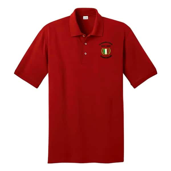 Cent' Anni Red Polo Shirt 1