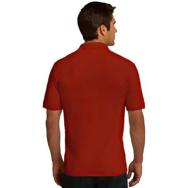 Cent' Anni Red Polo Shirt 3