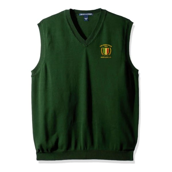 Club V-Neck Sweater Vest 1